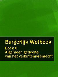 Nederland -Burgerlijk Wetboek boek 6