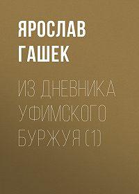 Ярослав  Гашек -Из дневника уфимского буржуя (1)
