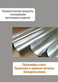 Илья Мельников -Жестяницкие работы. Проолифка стали. Травление и лужение металла. Холодная клепка