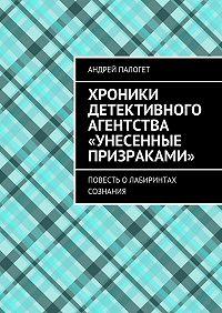 Андрей Палогет -Хроники детективного агентства «Унесенные призраками». Повесть олабиринтах сознания