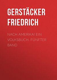Friedrich Gerstäcker -Nach Amerika! Ein Volksbuch. Fünfter Band