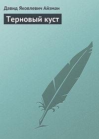 Давид Айзман -Терновый куст