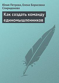Елена Борисовна Спиридонова -Как создать команду единомышленников