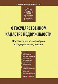 Анна Александровна Назимова -Комментарий к Федеральному закону от 24 июля 2007 г. №221-ФЗ «О государственном кадастре недвижимости»