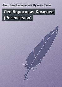 Анатолий Васильевич Луначарский -Лев Борисович Каменев (Розенфельд)
