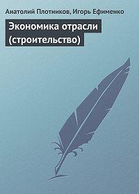 Анатолий Плотников -Экономика отрасли (строительство)