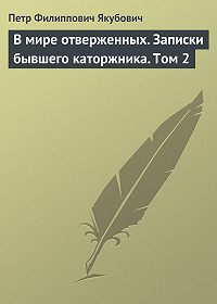 Петр Якубович -В мире отверженных. Записки бывшего каторжника. Том 2