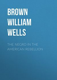 William Brown -The Negro in The American Rebellion