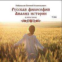 Небольсин Анатольевич - Русская философия. Анализ истории. Том 1