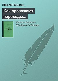 Николай Шмагин -Как провожают пароходы…