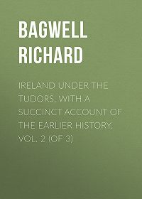 Richard Bagwell -Ireland under the Tudors, with a Succinct Account of the Earlier History. Vol. 2 (of 3)