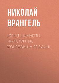 Николай Врангель -Юрий Шамурин, «Культурные сокровища России»