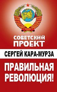 Сергей Кара-Мурза - Правильная революция!