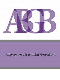 Österreich -Allgemeines burgerliches Gesetzbuch (ABGB)