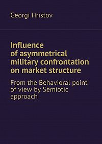 Georgi Hristov -Influence of asymmetrical military confrontation on market structure. From the Behavioral point of view by Semiotic approach