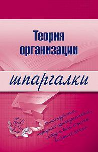 Анна Тюрина -Теория организации