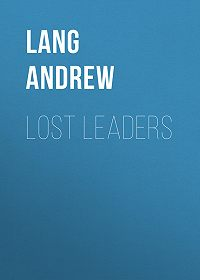 Andrew Lang -Lost Leaders