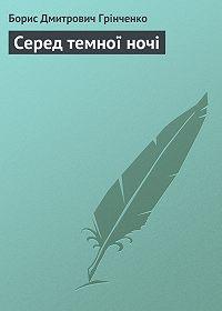 Борис Грінченко - Серед темної ночі