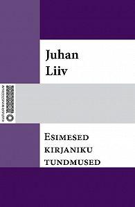 Juhan Liiv - Esimesed kirjaniku tundmused