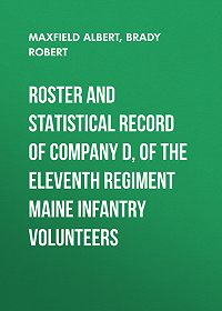 Albert Maxfield -Roster and Statistical Record of Company D, of the Eleventh Regiment Maine Infantry Volunteers