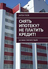 Антон Гусев -Снять ипотеку? Не платить кредит! Невижу препятствий!