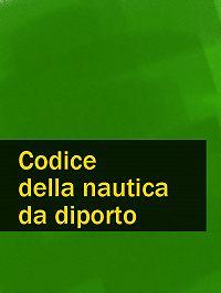 Italia -Codice della nautica da diporto