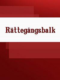 Sverige -Rättegångsbalk