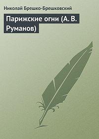 Николай Брешко-Брешковский -Парижские огни (А. В. Руманов)
