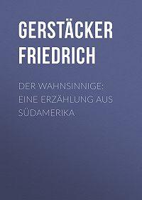 Friedrich Gerstäcker -Der Wahnsinnige: Eine Erzählung aus Südamerika