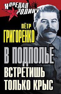 Петр Григоренко - В подполье встретишь только крыс