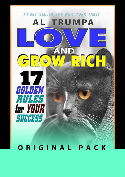Love And Grow Rich. 17 Golden Rules For Your Success. Original Pack