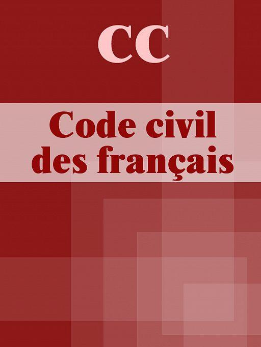 CC Code civil des français
